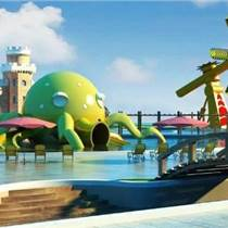 定制水上樂園章魚拱門雕塑游樂場漂流主題雕塑報價