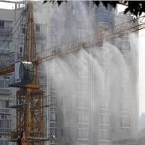 竹溪工地塔吊喷雾喷淋设备,高空零死角喷淋除尘降温