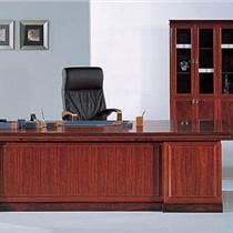 办公家具老板桌椅办公桌总裁大班台贴皮主管桌经理桌