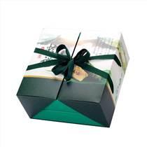 定制端午粽子包裝盒 土特產白卡紙盒 手提禮品盒