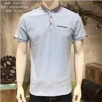 品牌男裝服飾批發市場清倉T恤