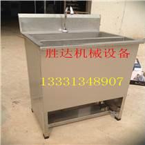 .感應出水單槽304不銹鋼洗手池潔凈洗手池食品間洗手