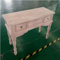 供應實木桌椅白茬歐式梳妝桌梳妝臺白茬辦公桌白茬