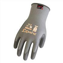 HD汉登500度掌部黄色毛毡背部及护腕铝箔耐高温手套