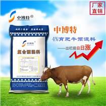 育肥牛专用预混料肉牛预混料批发