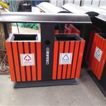 青蓝钢木垃圾桶 促销钢木垃圾桶 全国供货环保垃圾桶