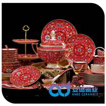 景德镇餐具套装 批发陶瓷餐具价格 套装碗定制厂家