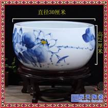 创意陶瓷工艺花盆 中式聚宝盆