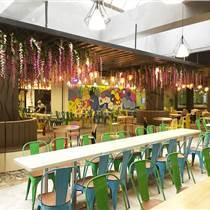南京食堂装修设计时,如何合理安排桌椅|高容纳的学校食