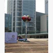 賀州玻璃鋼五彩氣球雕塑商業街