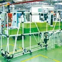 骏怡线棒精益管接头复合管货架周转车精益管工作台