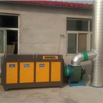 濟源發泡膠廠廢氣治理技術工程 膠水廠臭氣異味裂解凈化