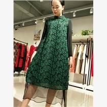 品牌折扣女裝|秋冬時尚女裝貨源|大碼連衣裙尾貨批發
