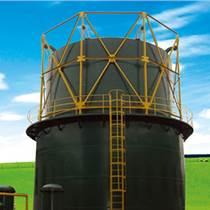 沼氣物盡其用-鋼制氣柜