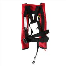雙氣室氣脹式救生衣,套頭自動充氣救生衣