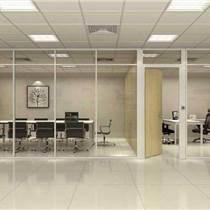 单层玻璃隔墙|移动隔断墙|单层玻璃隔断