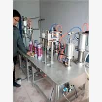 升級小型連續罐裝88倍粘接劑填充泡沫膠填縫劑機器