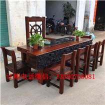 老船木家具茶台,家用常规小茶台,阳台专用茶台,也可用
