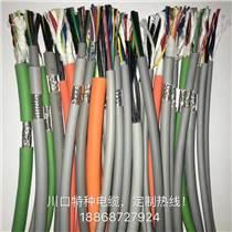 川口电缆TRVV耐磨耐油耐弯曲拖链电缆