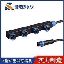 LED太阳能路灯控制器路灯防水连接器 1拖4F型 M