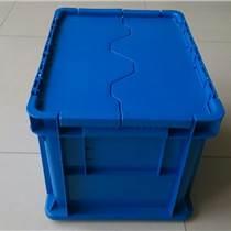 蘇州零部件汽配物流箱標準尺寸周轉箱