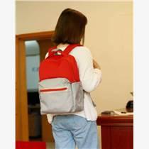 按要求生產定制書包 學生包 加印LOGO 雙肩背包