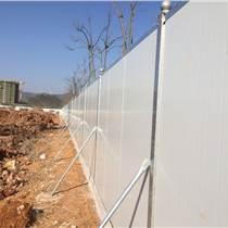 廣州建筑工程圍擋增城工地現場施工彩鋼夾芯板圍擋