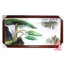 手繪瓷板畫訂制瓷板畫價格