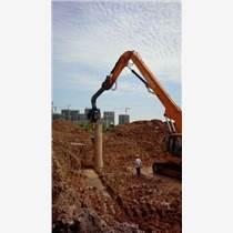 江西日立EX350挖掘機打樁臂