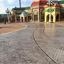 遼寧混凝土壓花地面 遼陽市藝術壓模地坪 壓印道路廠家