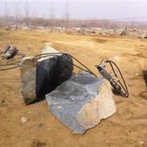 重慶巫山巖石拆除新型液壓分裂機械圖片