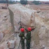 海南??趫杂矌r石拆除用液壓破裂機采石效率