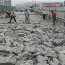 安徽蚌埠邊坡巖石用什么機器破碎巖石施工視頻
