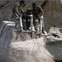 江西鹰潭岩石拆除新型液压分裂机械厂家在哪里