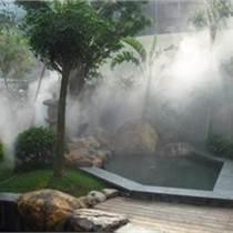 人造雾喷雾降温除尘设备系统