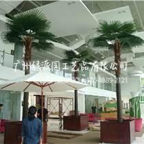 专业定做大型仿真棕榈树椰子树 室内商城布景仿真棕榈树