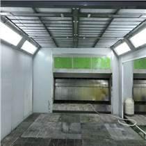 無泵水幕無塵汽車烤漆房 底座加重加厚防雨噴漆房批發