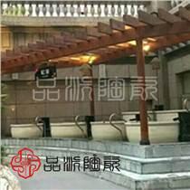 日式極樂湯泡澡大缸 澡堂溫泉洗浴中心陶瓷泡澡缸廠家