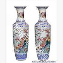 景德鎮陶瓷大花瓶喬遷開業博古架裝飾寺廟供奉大花瓶