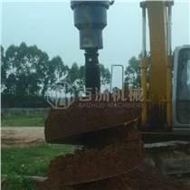 直徑350mm的常用挖掘機液壓螺旋式鉆洞機 螺旋鉆土