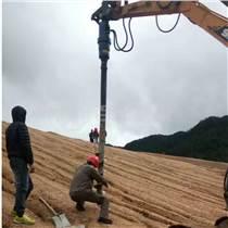 挖掘機液壓螺旋鉆機螺旋鉆孔打樁機