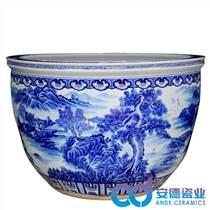 陶瓷大缸养花 家居客厅摆设陶瓷鱼缸