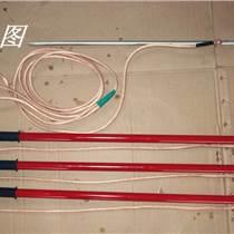 合肥電廠110KV雙簧式高壓接地線接地棒