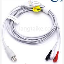 科林COLIN BP88S监护仪心电导联线3导扣式