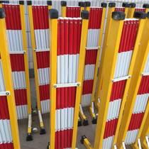供應絕緣移動護欄 管式伸縮圍欄-移動欄柵