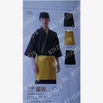 日料理店員服裝 和服 上衣褲子圍裙帽子 壽司店工作服