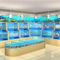 海鮮主題餐廳海鮮魚池,海鮮火鍋店的魚池怎么做