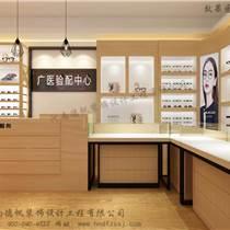 青州眼镜店装修、眼镜展柜制作