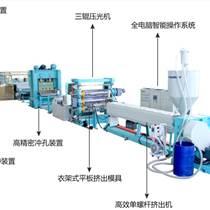 復合3D三維立體排水網生產線