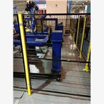 青島車間圍欄廠家 工業機器人圍欄 倉庫隔離網定制
